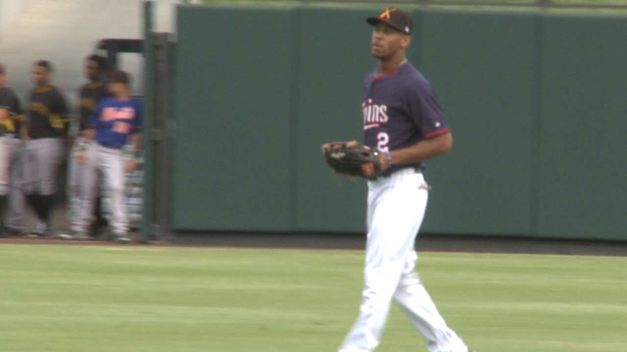 MLB Pipeline checks in from Twins camp