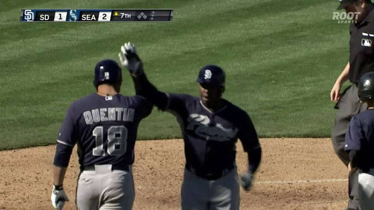 Upton goes deep in Cactus clash vs. Mariners