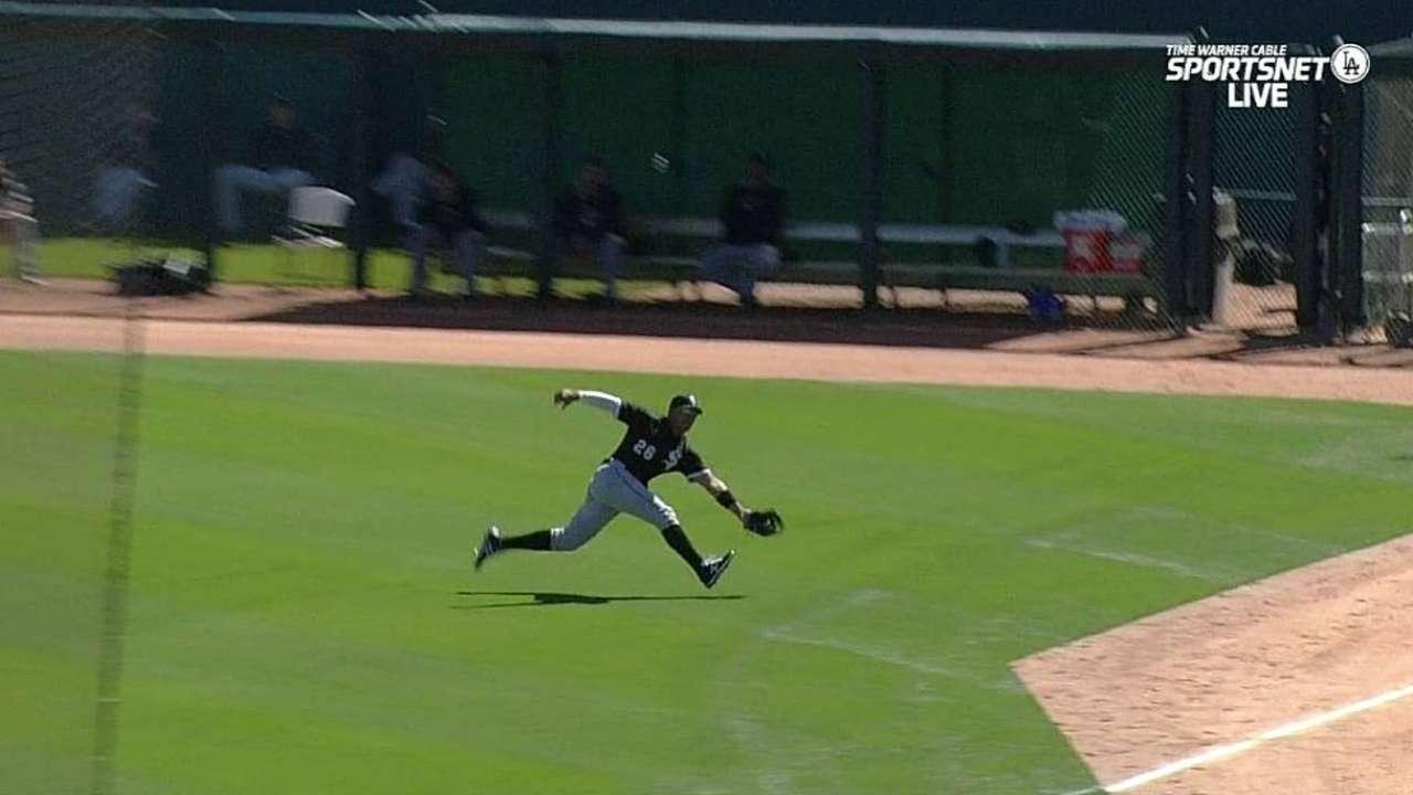 Garcia's nice catch