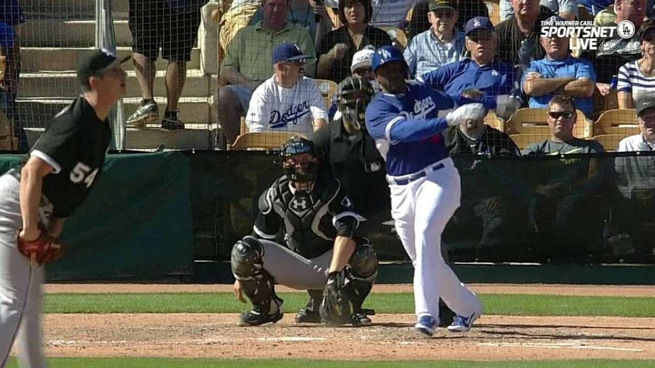 Dickson's solo home run