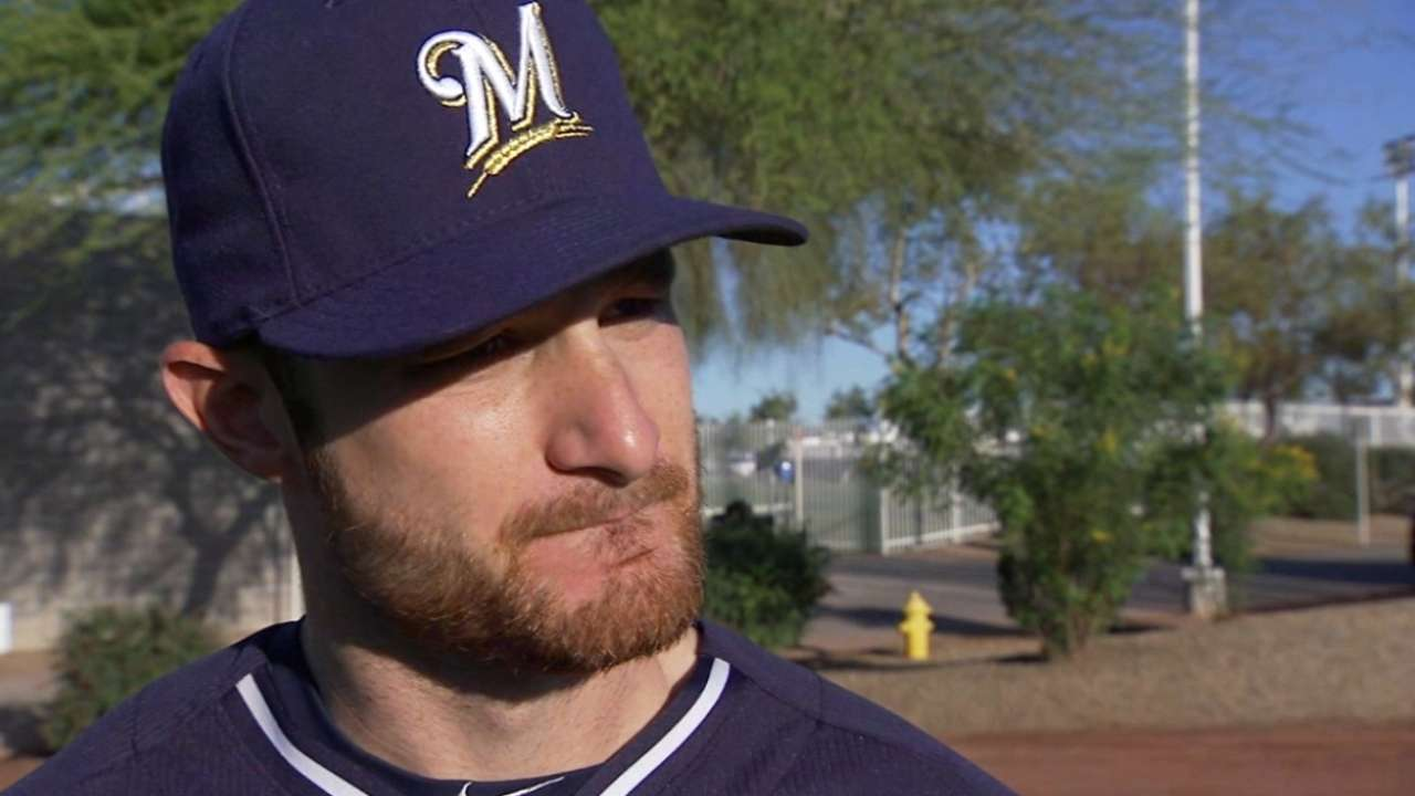 Hamstring improving, Lucroy eyes game action