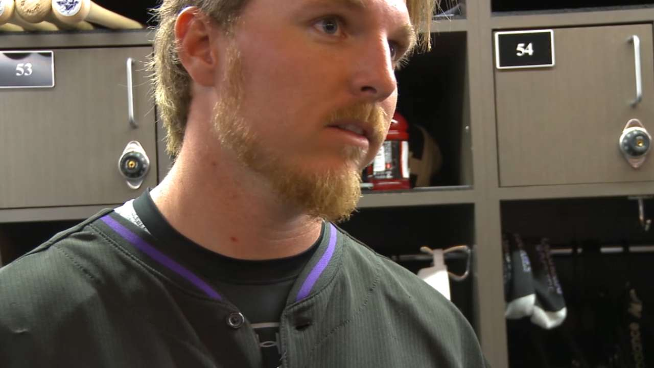 Gray on his scoreless outing