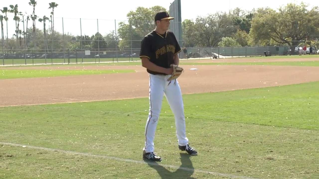 Pirates won't hurry pitching prospect Kingham