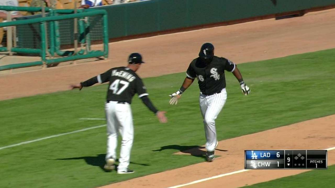 Abreu, Alexei add to spring hit total in Sox loss to LA