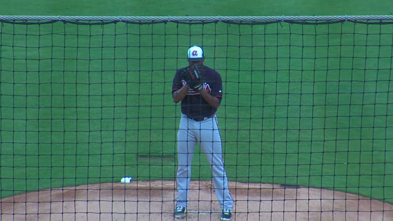 Teheran puts past behind him in first spring outing