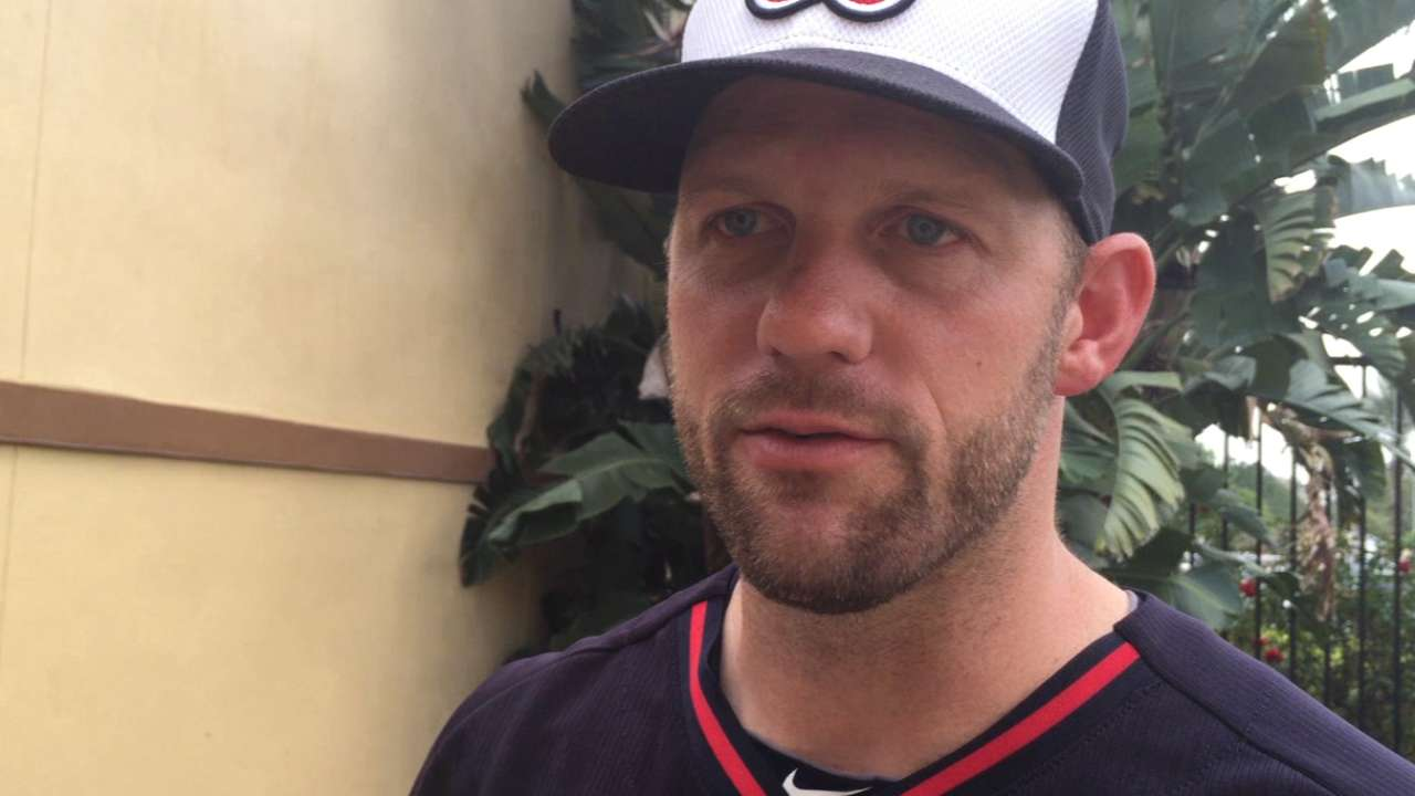 Stults staking early claim to rotation spot