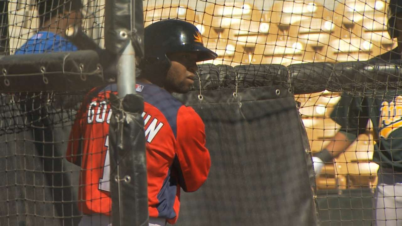 Goodwin, Solis, Rivero optioned to Minor Leagues
