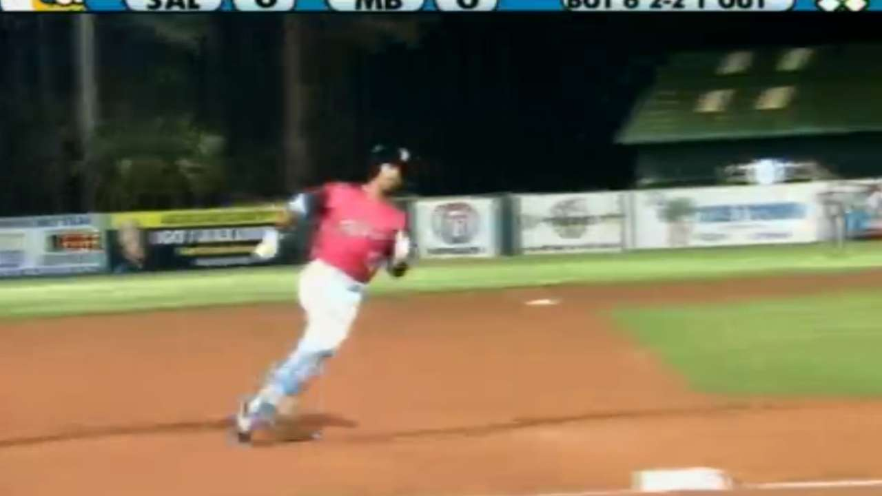Nats' Bostick bashes his way to Fall League win