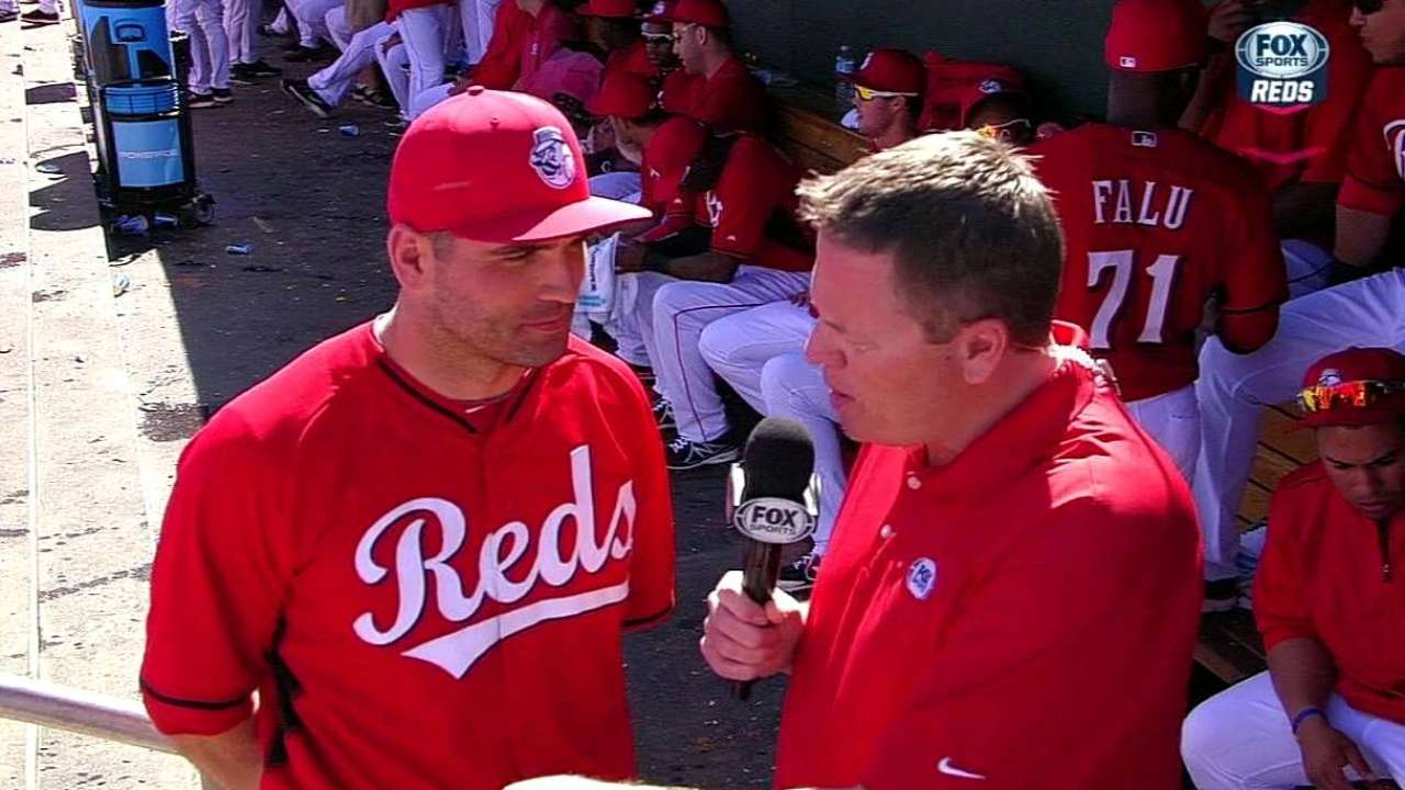 Votto on his recovery