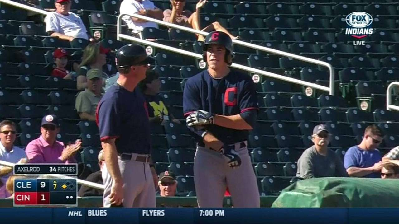 Zimmer gets taste of life in big league dugout