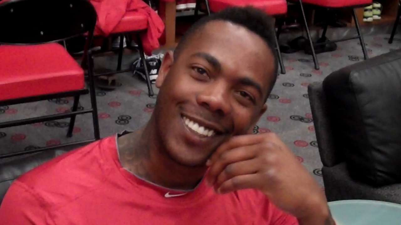 Nearly one year later, Chapman showing no signs of trauma
