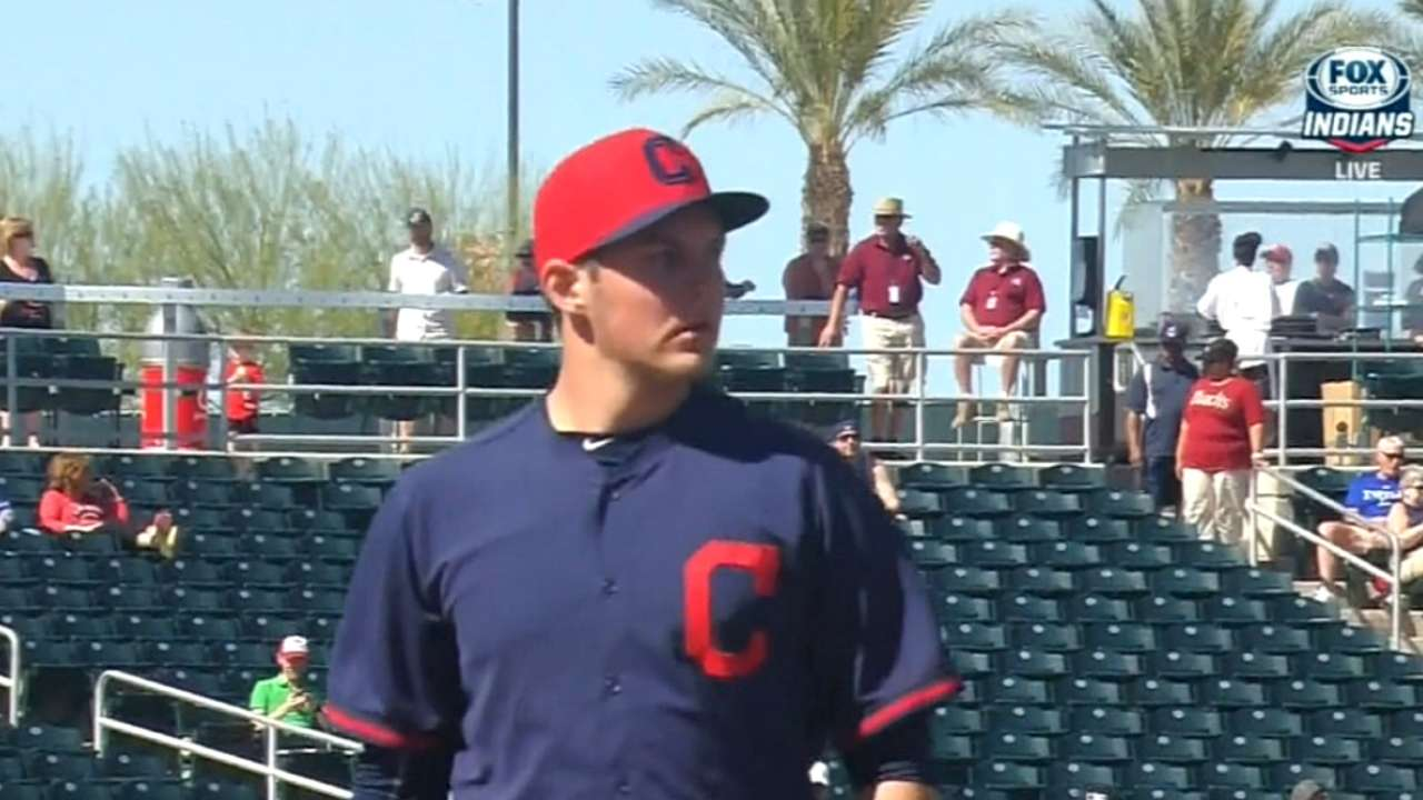 Indians embrace Bauer's scientific approach to pitching
