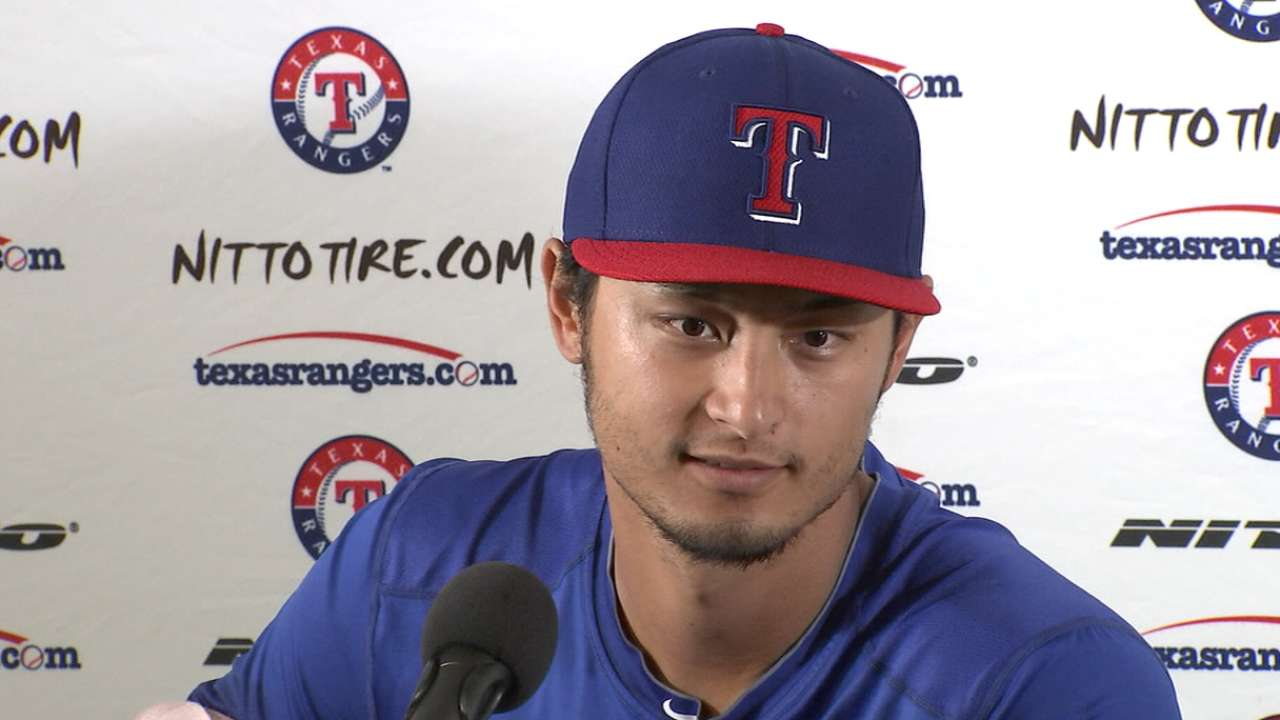 Darvish set to have MRI on right triceps