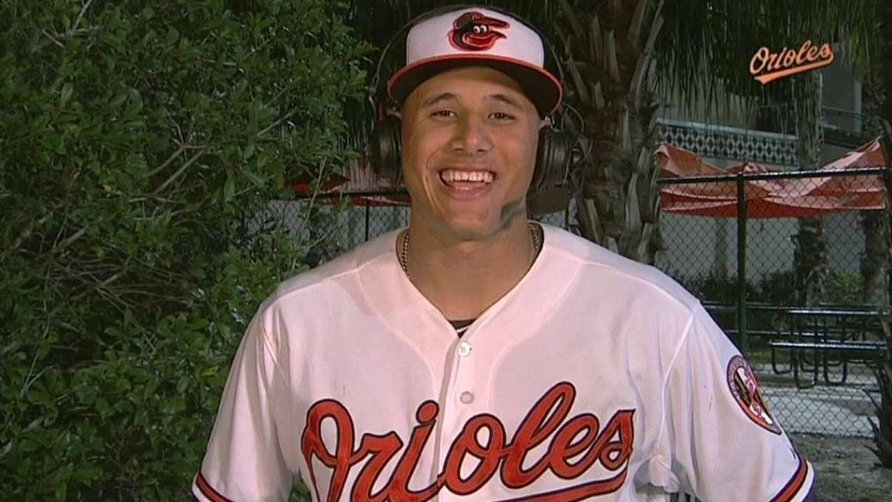 Machado thrilled to be back out on field