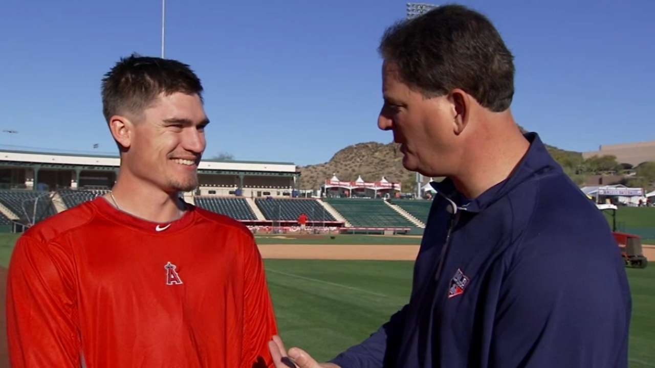 Angels willing to overlook results as Heaney learns
