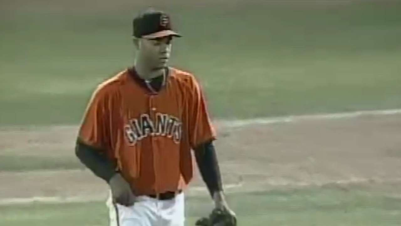 Flores makes jump from Double-A to Majors
