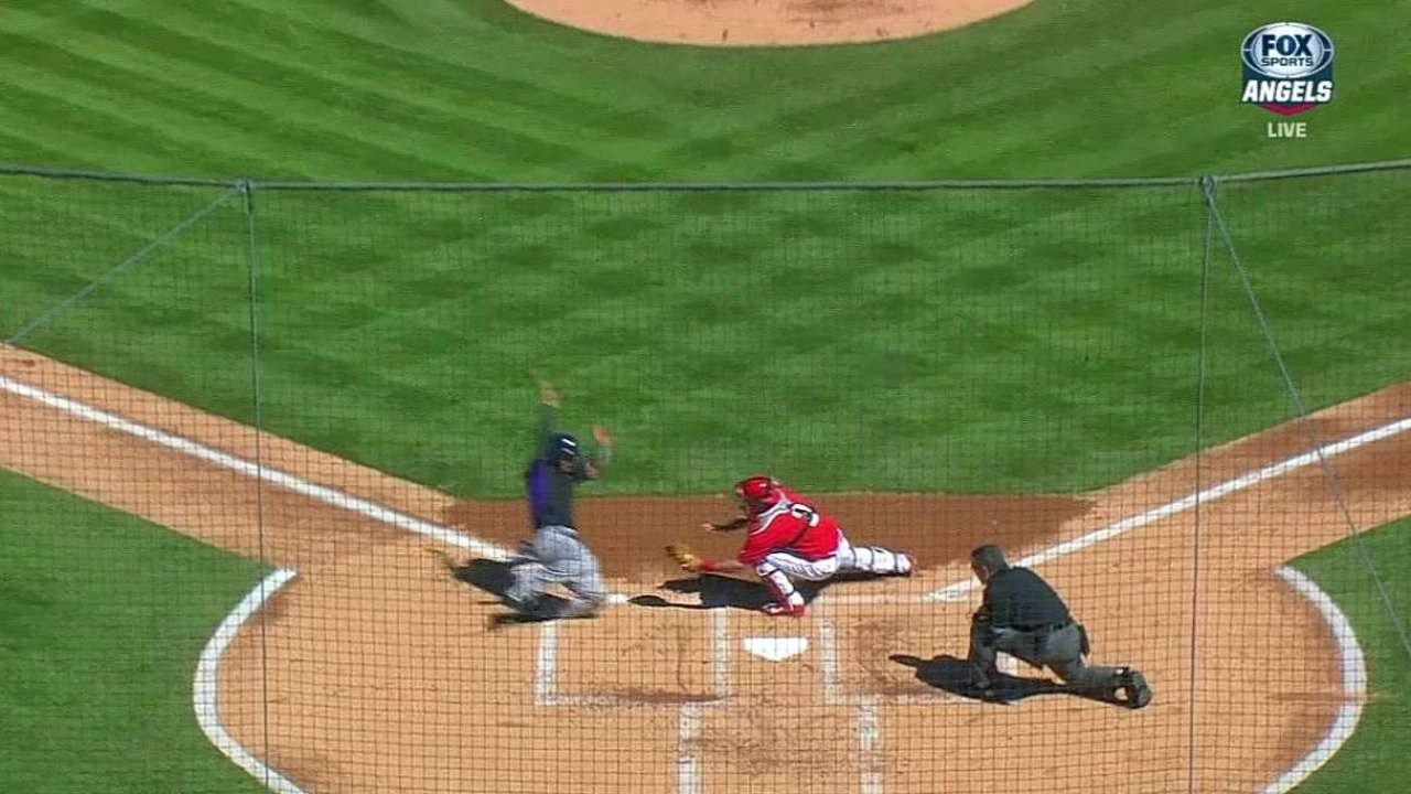 Cowgill turns two on Arenado