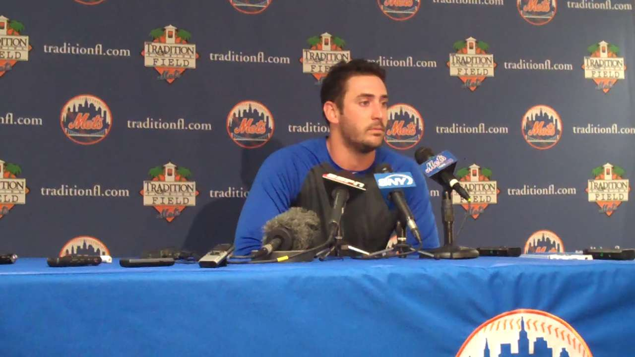 Mets thrilled with Harvey's form after long road back
