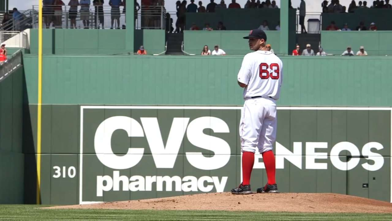 Masterson right at home after first outing back with Sox