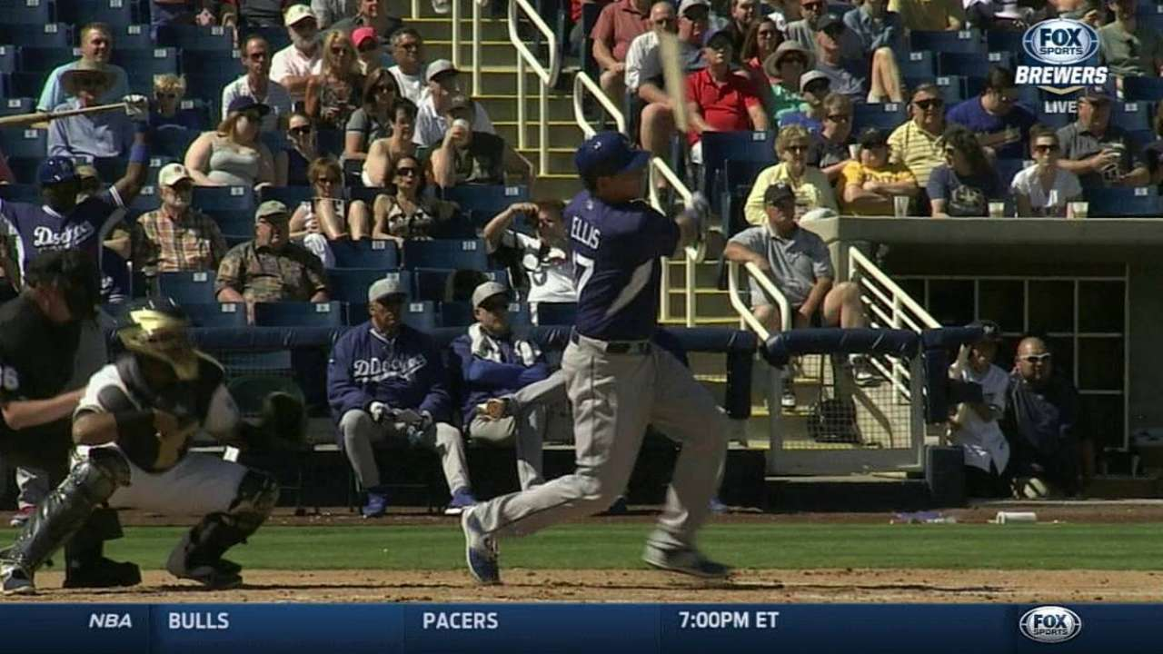 Dodgers blast off, Urias part of stingy pitching vs. Crew