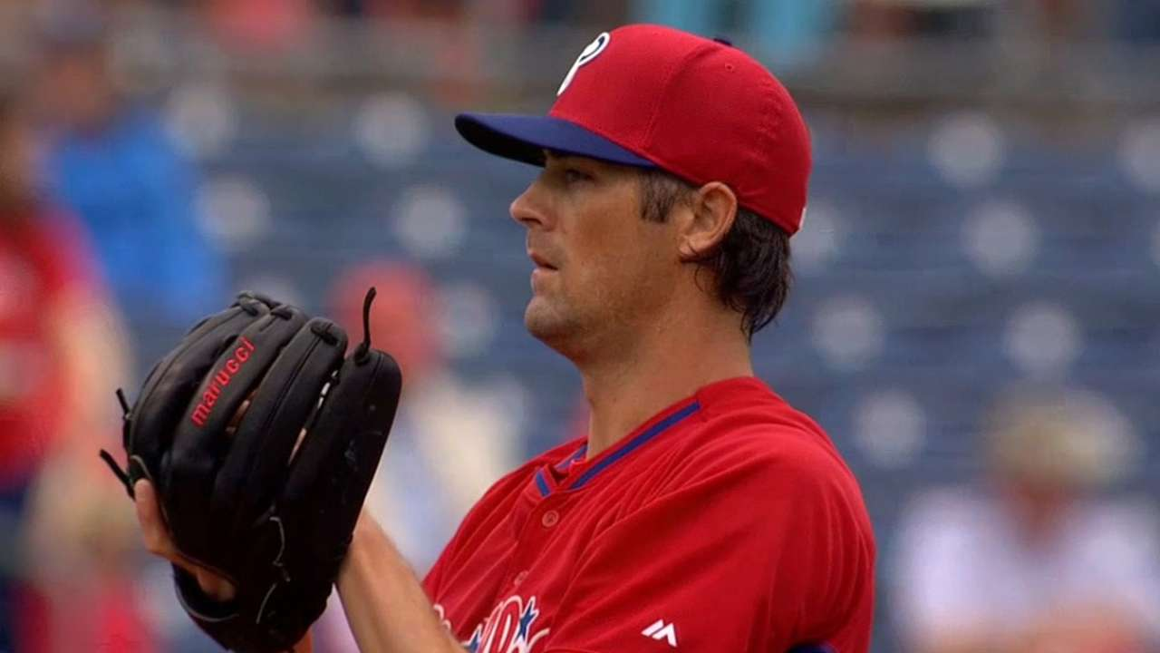 Halladay knows the road Hamels travels