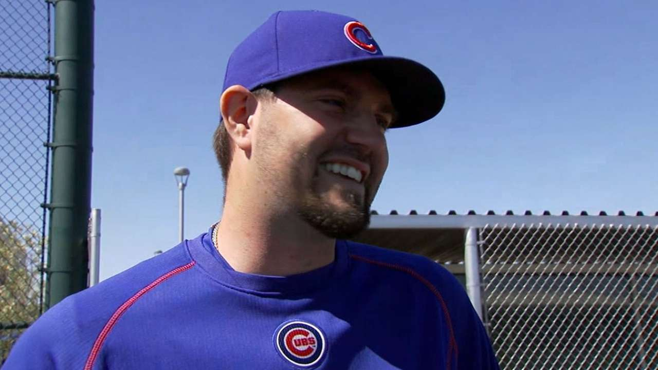 Hammel on reunion with the Cubs