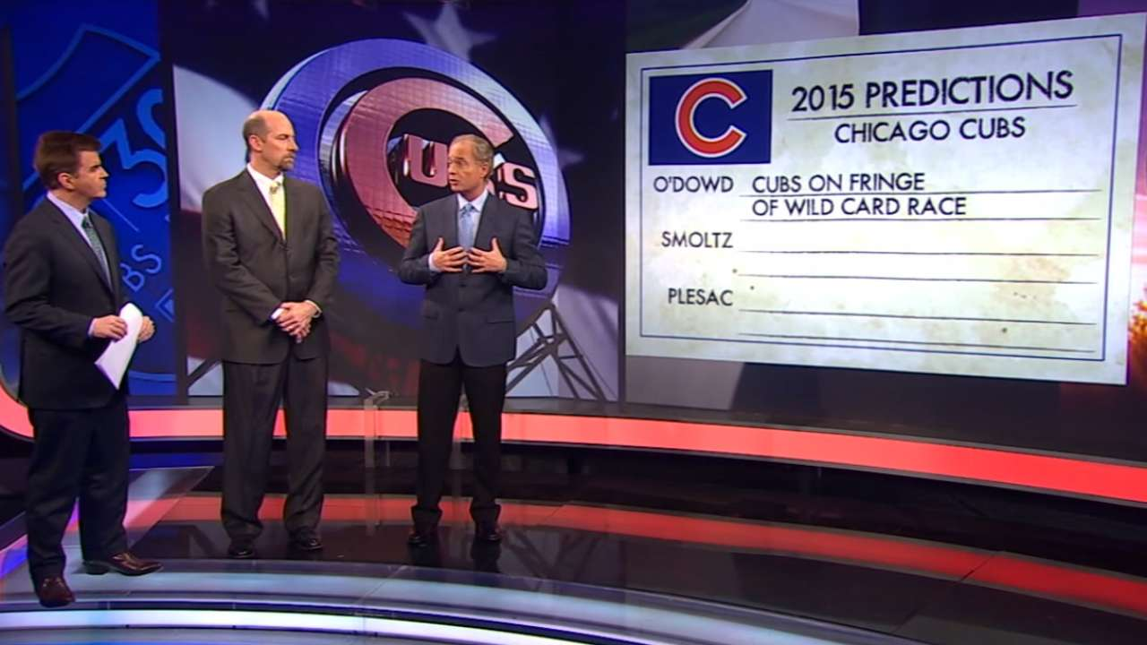 Predictions for the 2015 Cubs