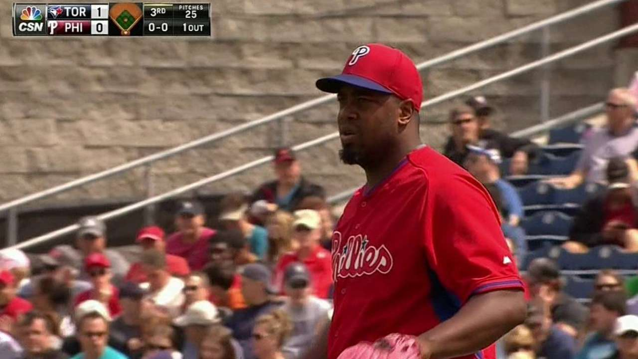 Papelbon makes successful spring debut to back Williams