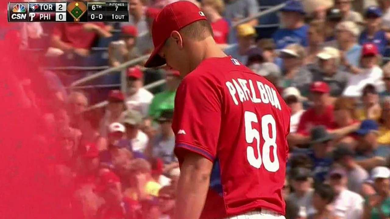 Papelbon's debut strikeout