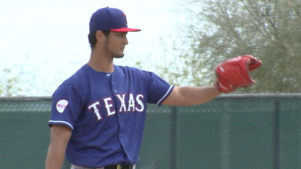 Rangers on Darvish's UCL sprain