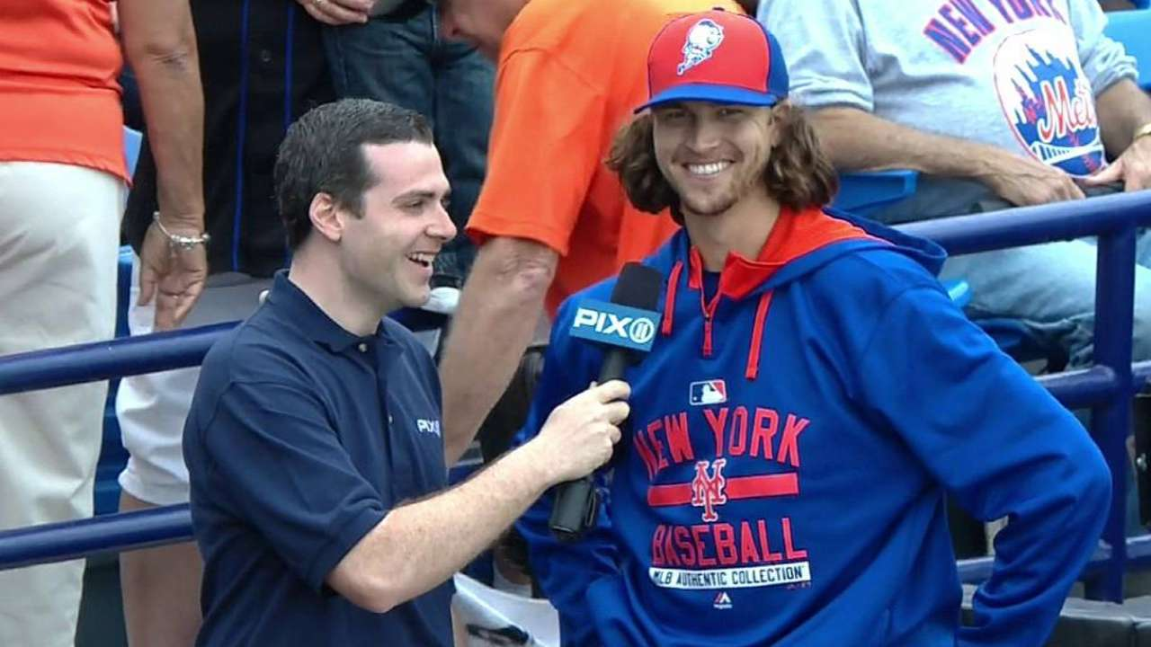 deGrom does little to curb Mets' enthusiasm