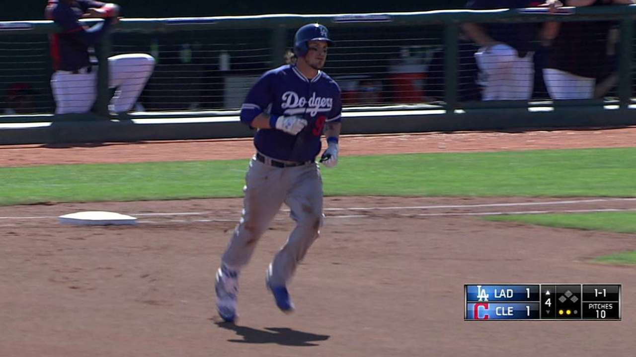Grandal has big day at the dish against Tribe