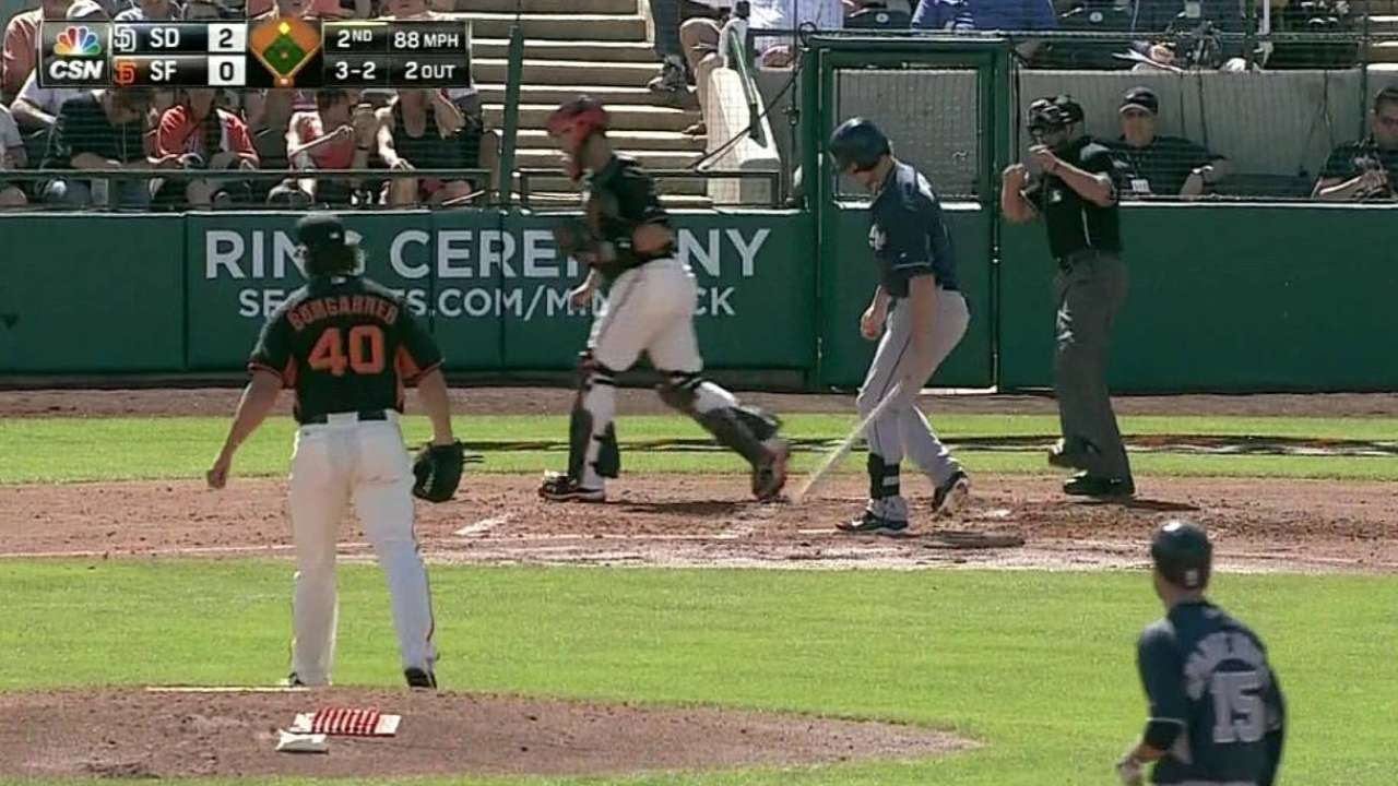 Bumgarner feels 'really good' in 2nd spring outing