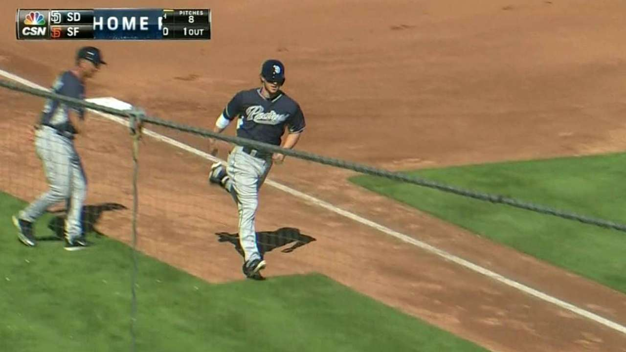 Padres newcomers shine against Giants