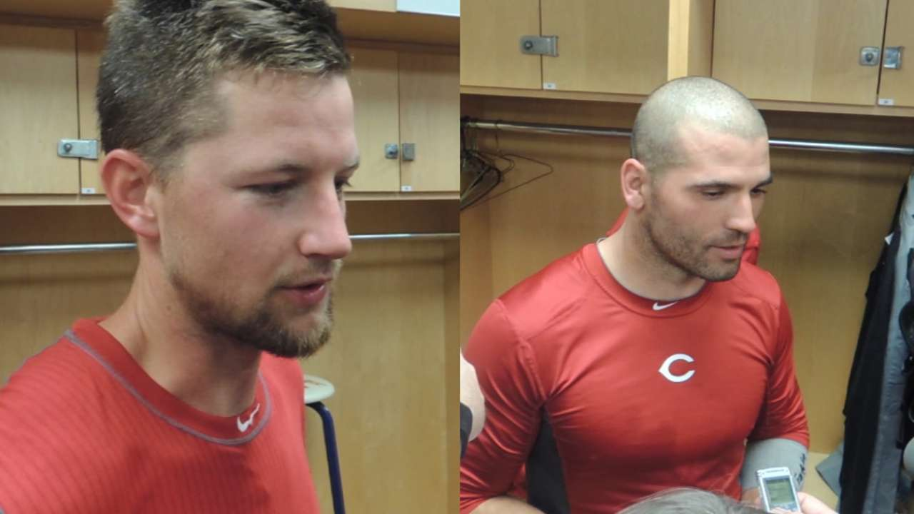 Votto 'so glad to be back' after spring debut