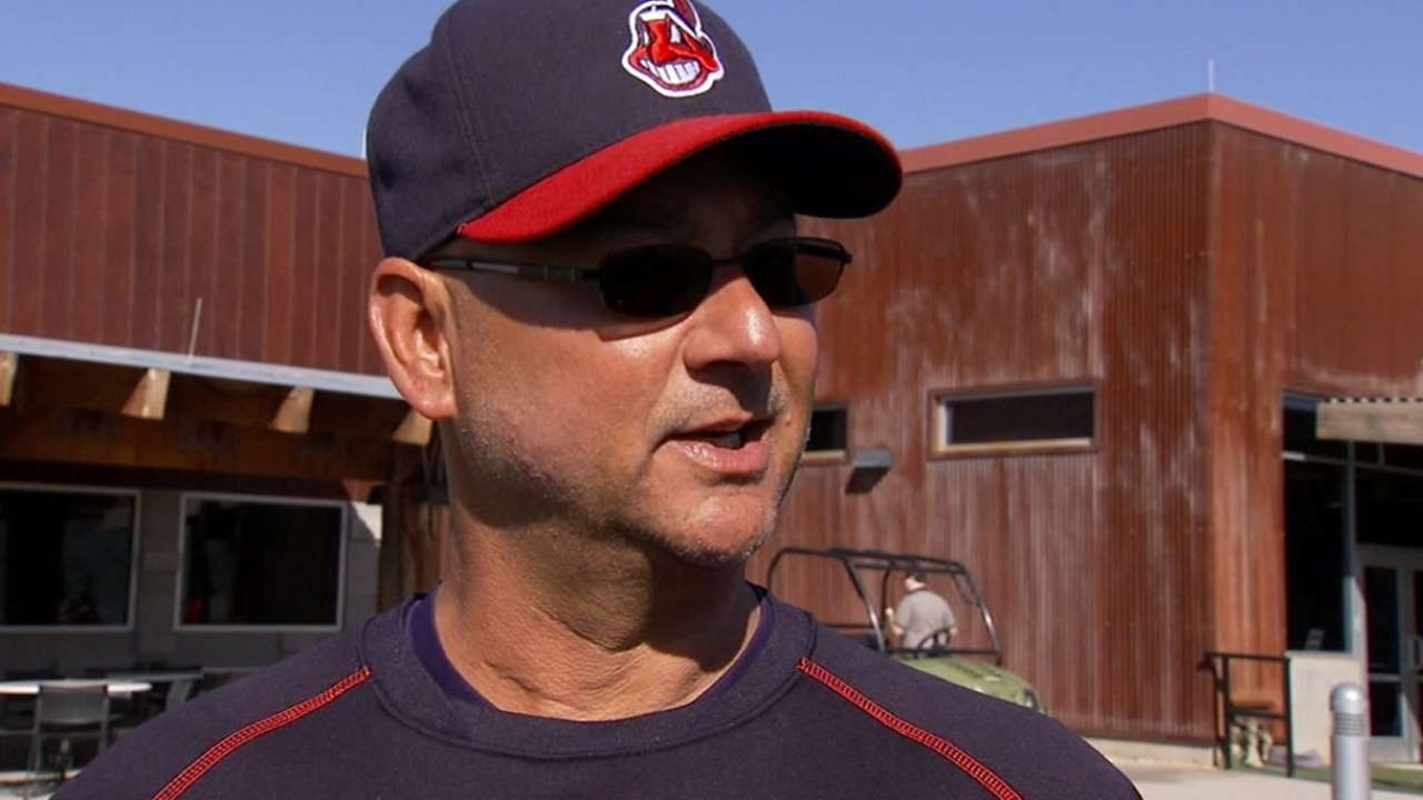 Francona heaps praise on bench candidate Sands