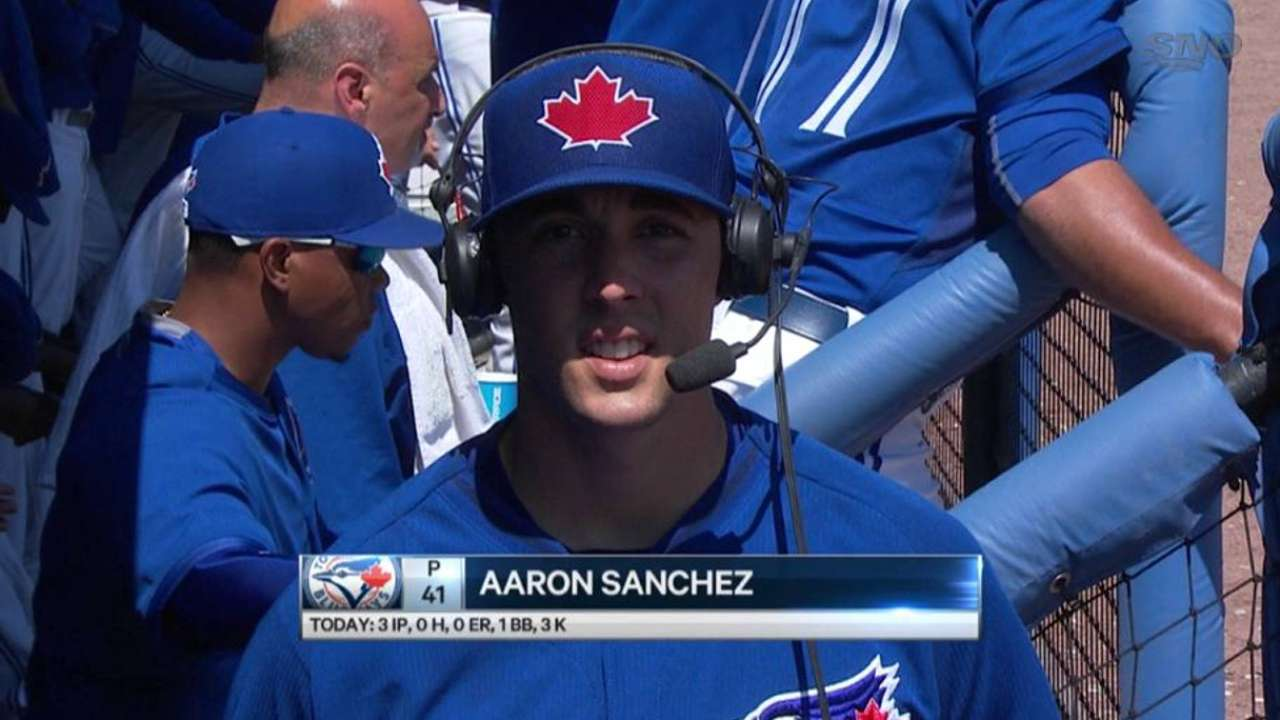 Sanchez ready to work in any capacity Blue Jays want