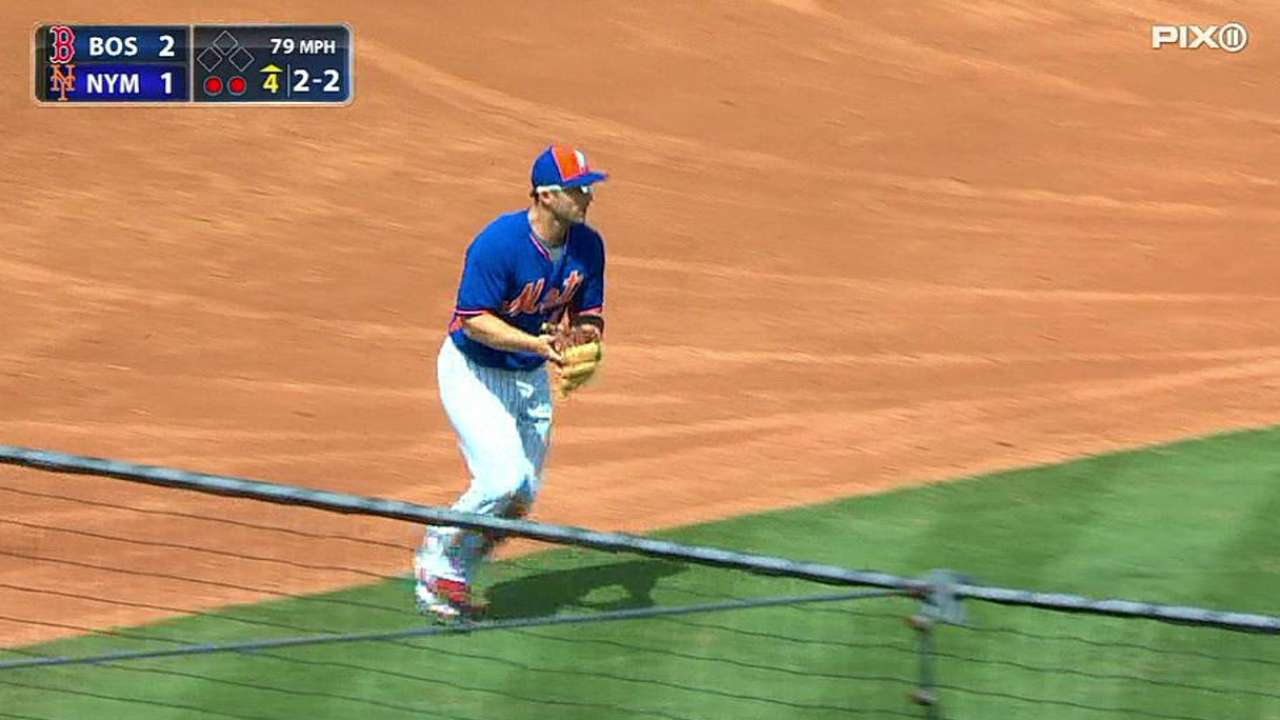 Wright's tough play
