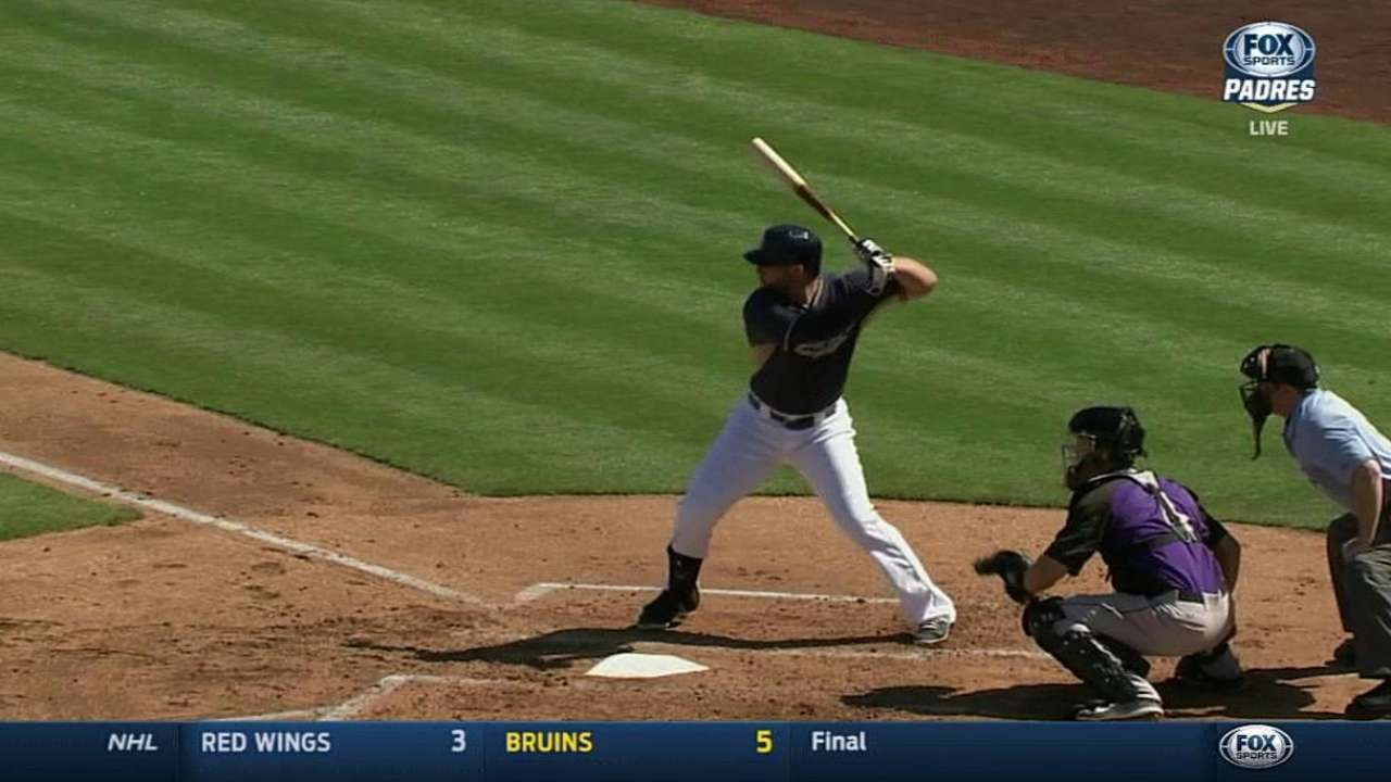 Alonso's three-run double not enough in loss to Rockies