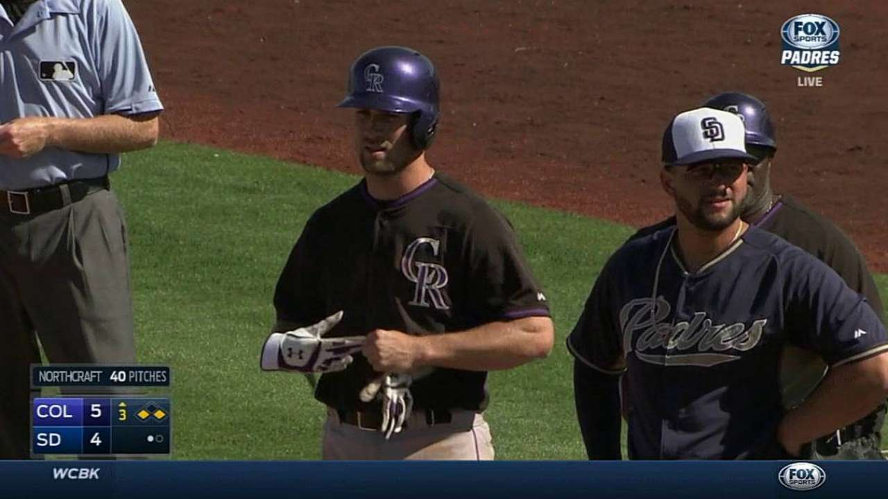 Rockies infielder Culberson optioned to Minors