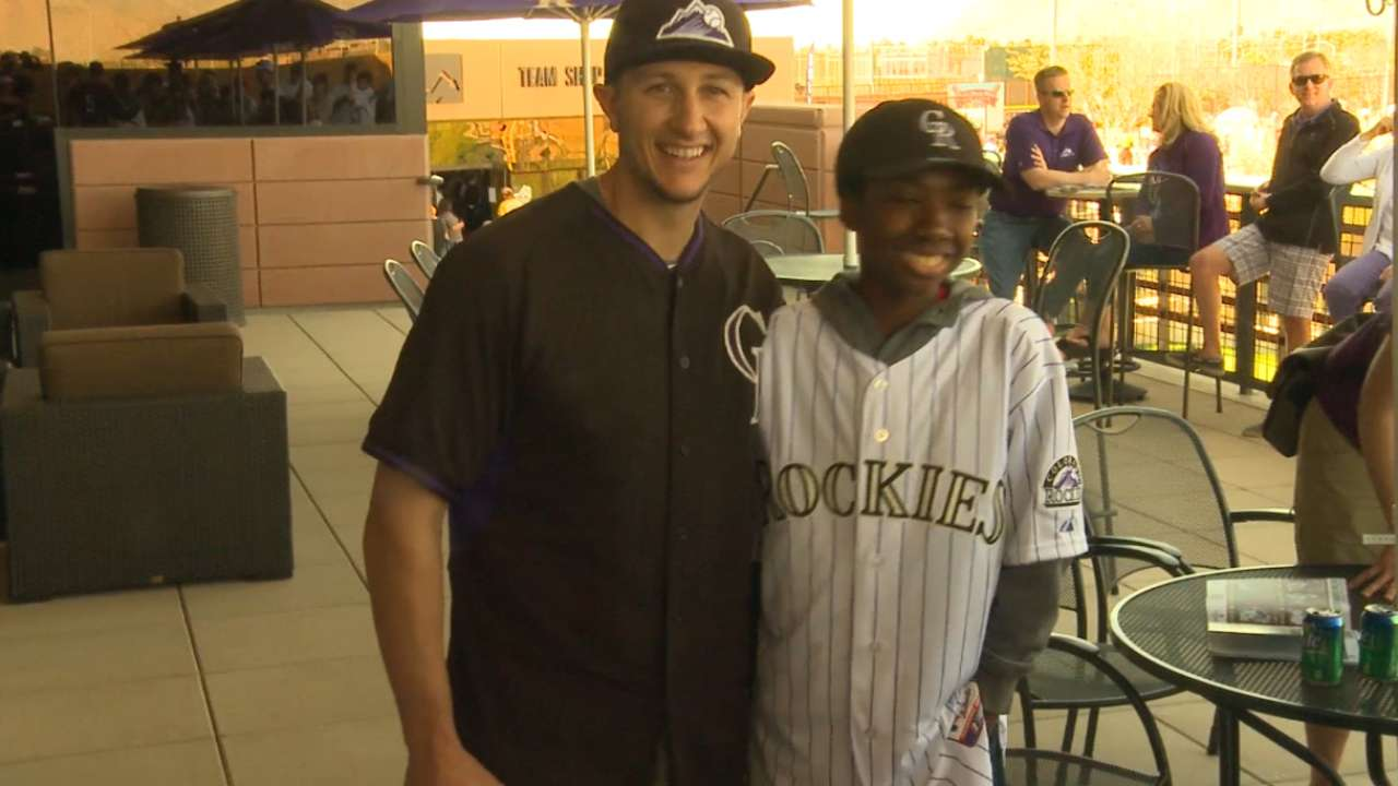 Tulo hosts kids at camp