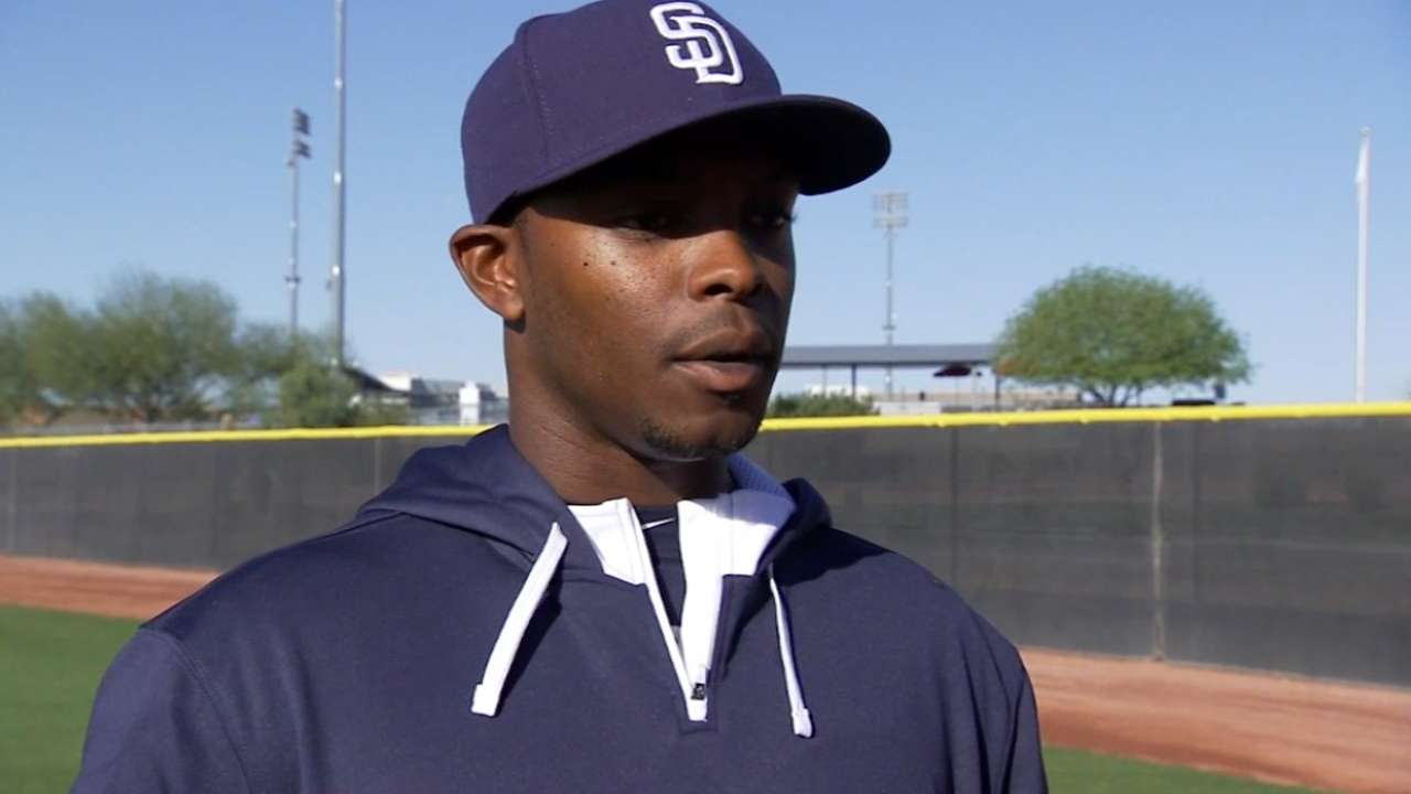 Upton on Padres' outfield, Petco