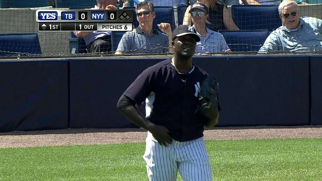 Pineda hoping to put together strong, healthy season