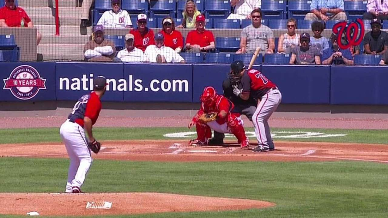 Gio cruises in first spring start, but Nats bats silent