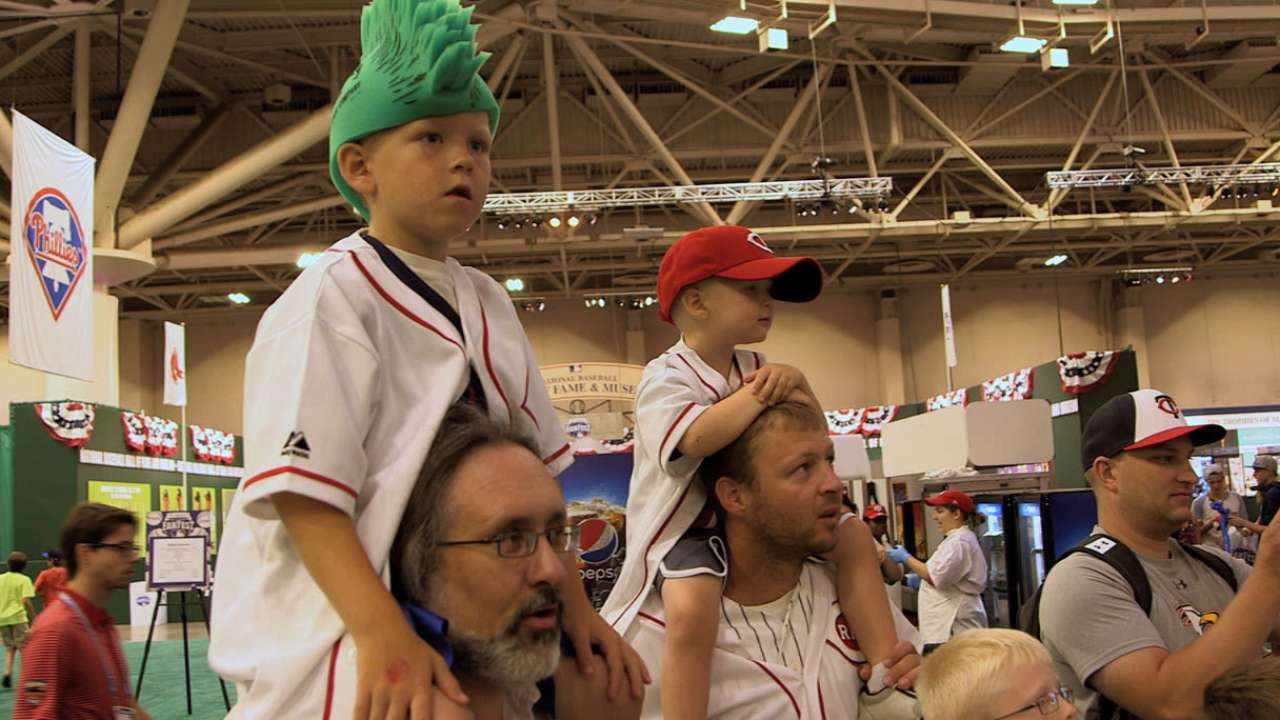 All-Star Sunday, FanFest aimed at making memories