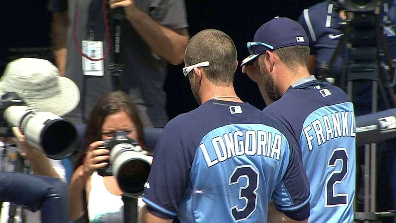 Jennings notches pair of hits vs. Yankees