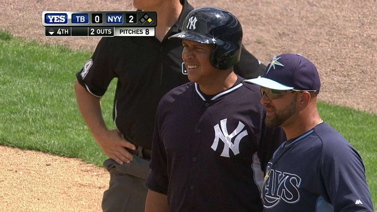 A-Rod's second single of the day