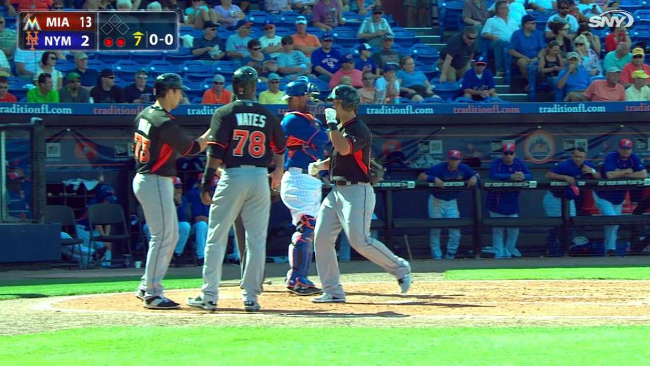 Romero's three-run homer