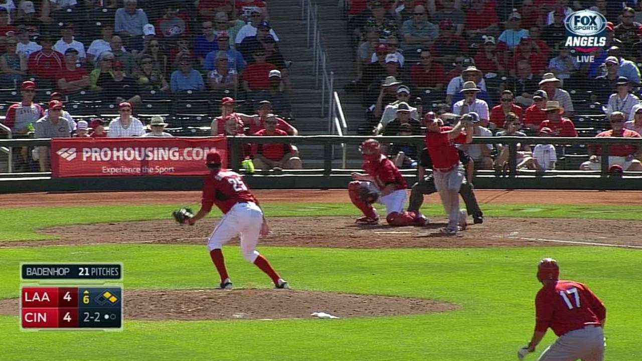 Reds catch up with intrasquad, Minors work