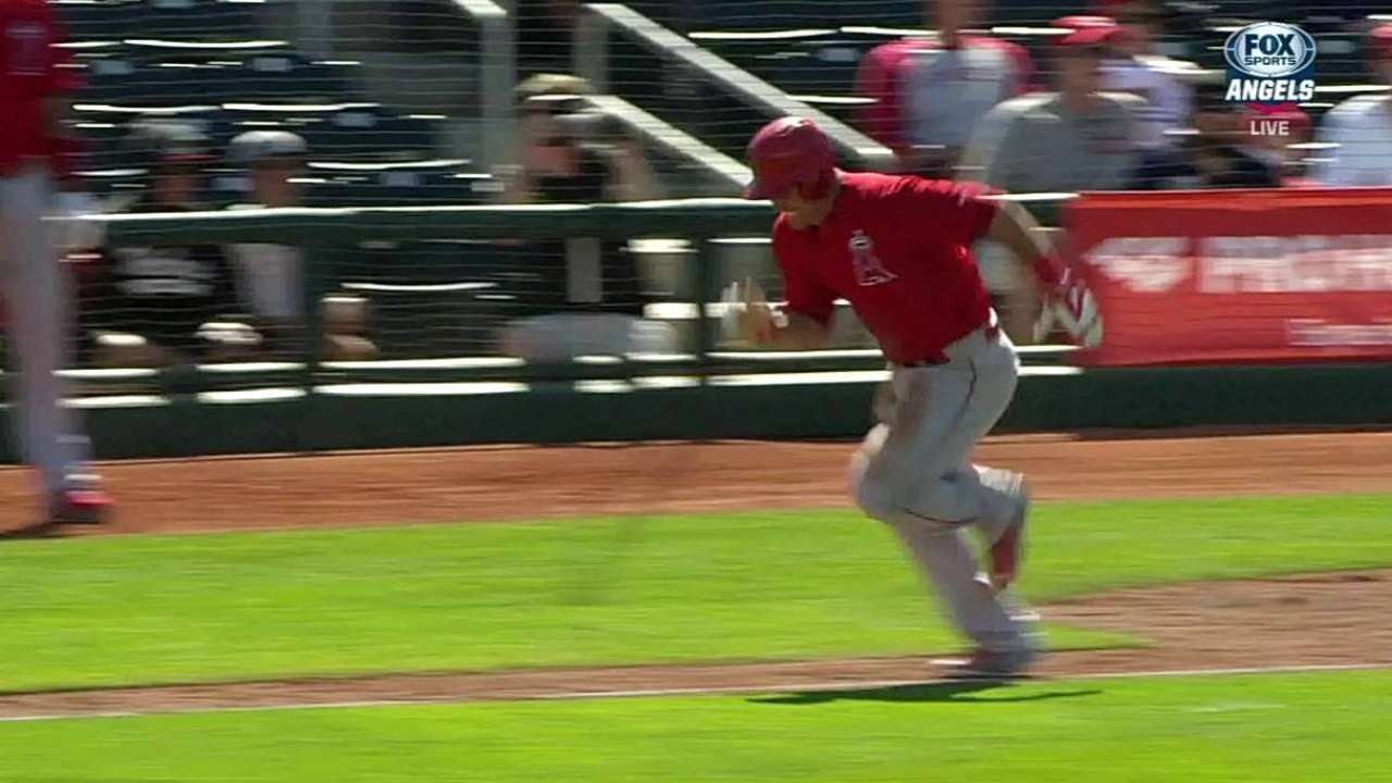 Trout happy to face Chapman and his heater